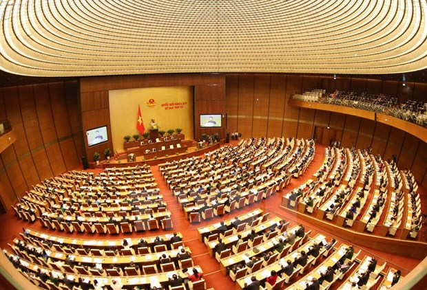 Lawmakers deliberate socio-economic, personnel issues hinh anh 1
