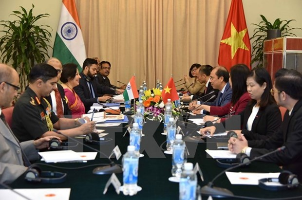 Vietnam, India hold 9th political consultation, 6th strategic dialogue hinh anh 1