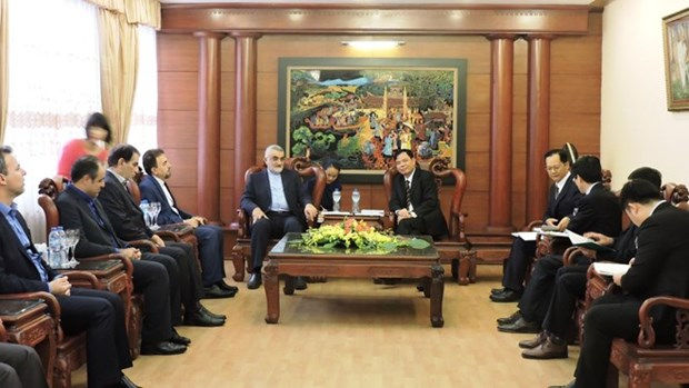 Vietnam, Iran step up trade ties with hope for 2 bln USD value hinh anh 1