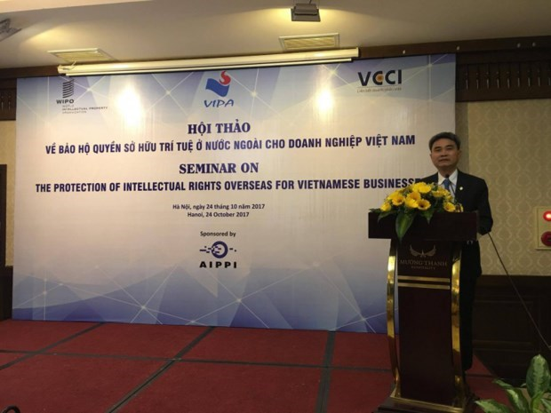 Vietnamese businesses equipped with IP right protection abroad hinh anh 1
