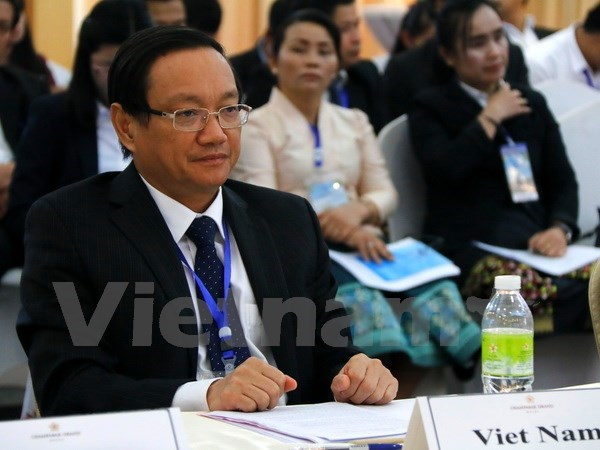 Vietnam attends ASEM seminar on water resources management in Laos hinh anh 1