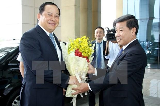 Lao Deputy PM visits Binh Duong hinh anh 1