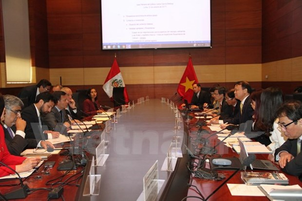 Peru-Vietnam Inter-Governmental Committee convenes first session hinh anh 1