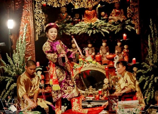Van singing festival protects cultural heritage hinh anh 1