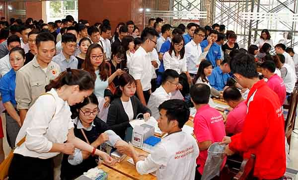 7,000 youths join in blood donation campaign hinh anh 1