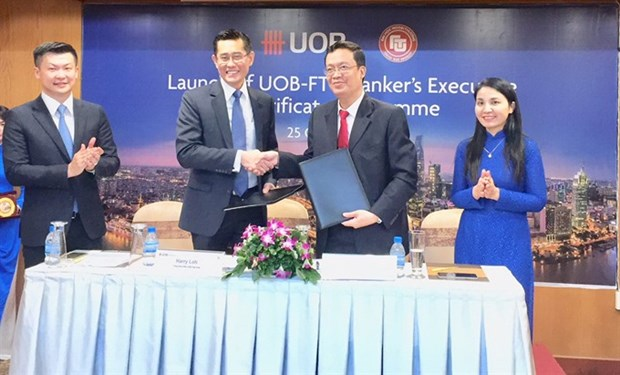 Tertiary training launched for bankers hinh anh 1