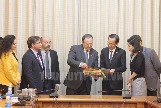 HCM City, Brazil's Maranhao state boost economic cooperation hinh anh 1
