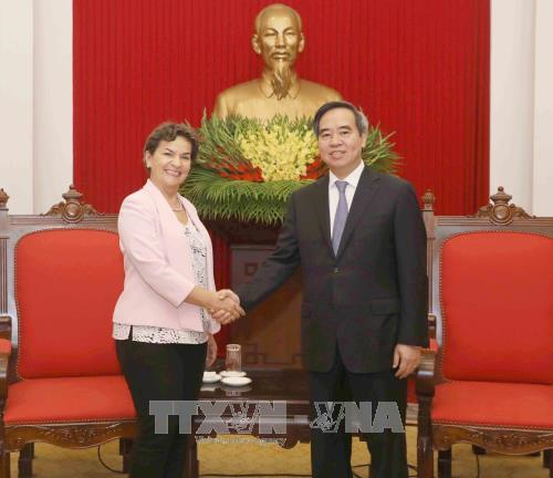 Mission 2020 leader welcomed in Hanoi hinh anh 1