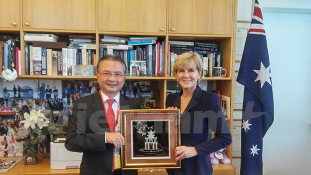 Vietnam, Australia strive to lift bilateral ties to new height hinh anh 1