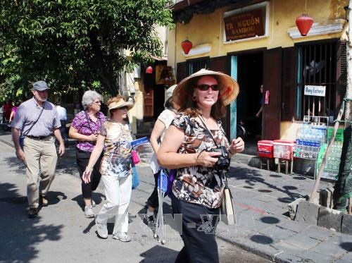 Foreign tourist arrivals hit over 1 million again hinh anh 1