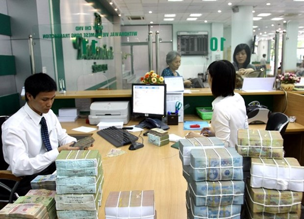 Reference exchange rate up by 3 VND at week's beginning hinh anh 1