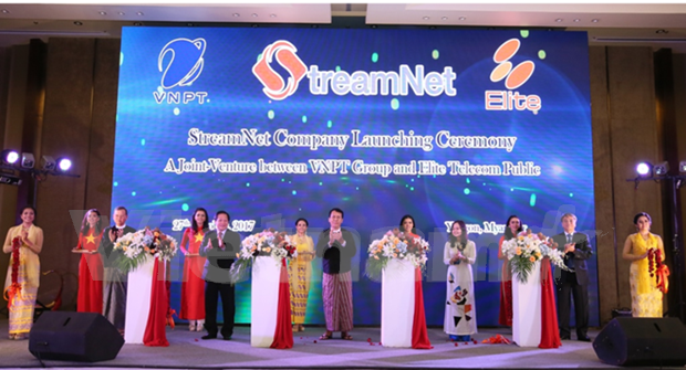VNPT enters into joint venture with Myanmar firm hinh anh 1