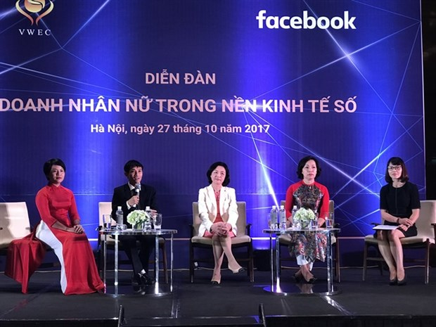 Conference seeks to strengthen women's role in digital economy hinh anh 1