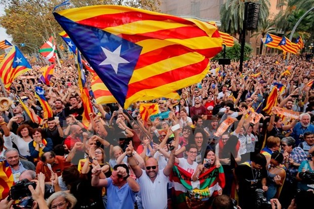 Constitution must be respected for Spain's unity: spokesperson hinh anh 1