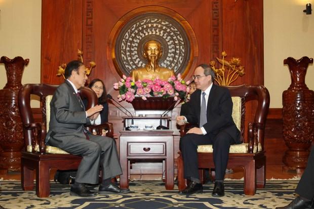 HCM City, Japan's Saitama look to partnership in manpower training hinh anh 1
