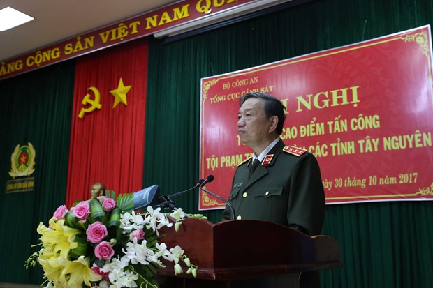Central Highlands urged to ensure absolute safety during APEC 2017 hinh anh 1