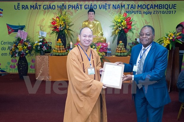 Vietnamese Buddhism introduced in Africa hinh anh 1