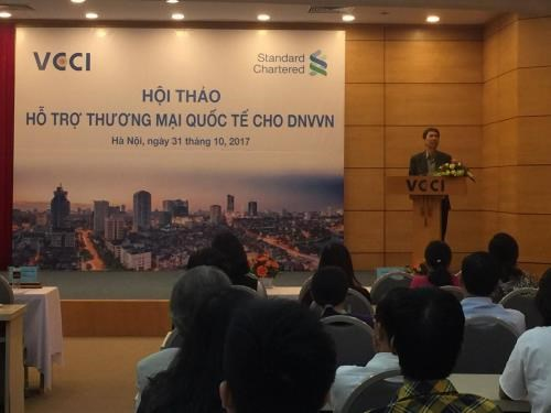 Workshop spotlights support for SMEs in foreign trade hinh anh 1