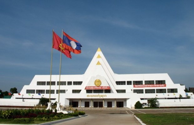 Construction of Lao NA House begins in Vientiane hinh anh 1