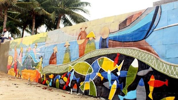 Street art livens up APEC week hinh anh 1