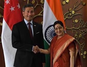Singapore, India enhance bilateral ties hinh anh 1