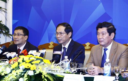 Press release on APEC 2017 summit week in Da Nang hinh anh 1