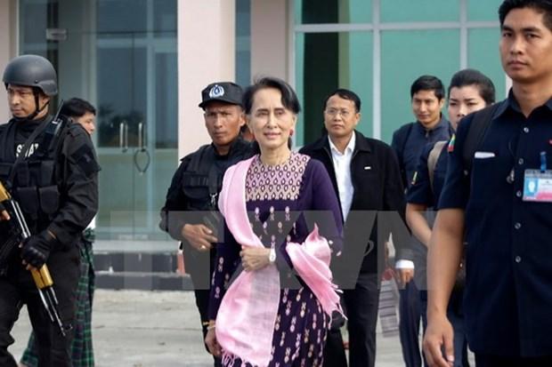 Myanmar State Counselor visits northern Rakhine hinh anh 1