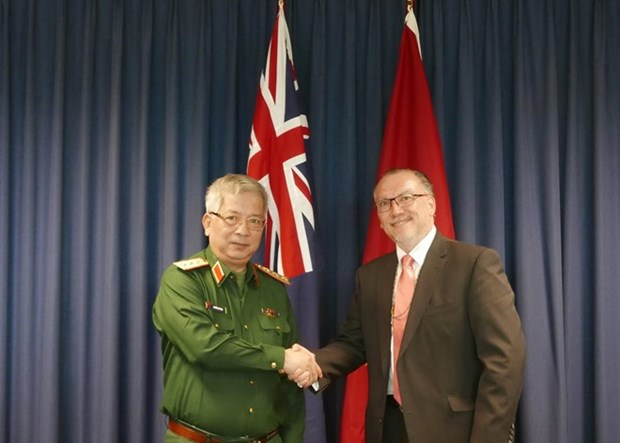 Vietnam, Australia hold first defence policy dialogue hinh anh 1
