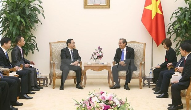 Deputy PM greets Chinese Deputy Minister of Public Security hinh anh 1