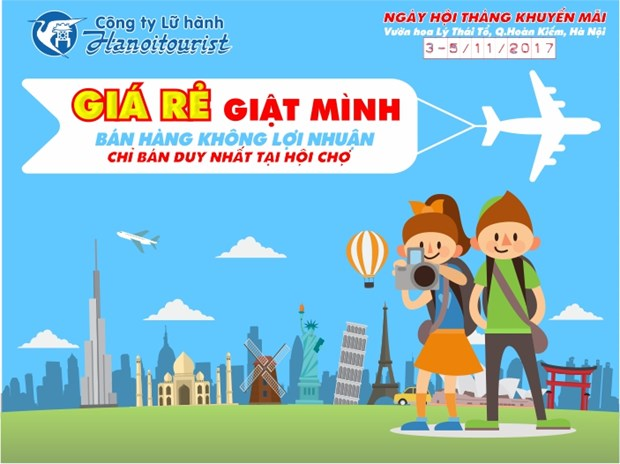 Discounted air tickets, tours offered at Hanoi tourism festival hinh anh 1