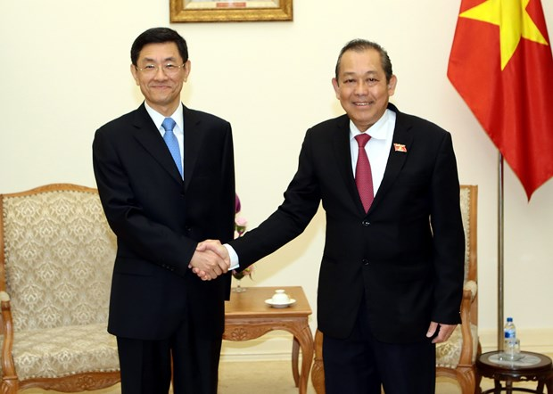 Deputy PM receives Chinese deputy minister of state security hinh anh 1