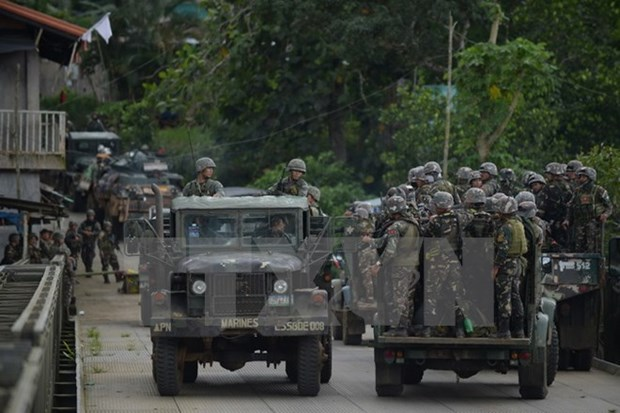 Philippines tightens security ahead of ASEAN, East Asia summits hinh anh 1