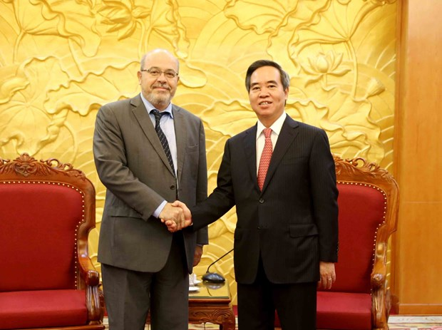 Party official appreciates IMF's assistance for Vietnam hinh anh 1