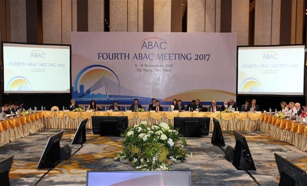 APEC 2017: Fourth ABAC meeting opens in Da Nang hinh anh 1