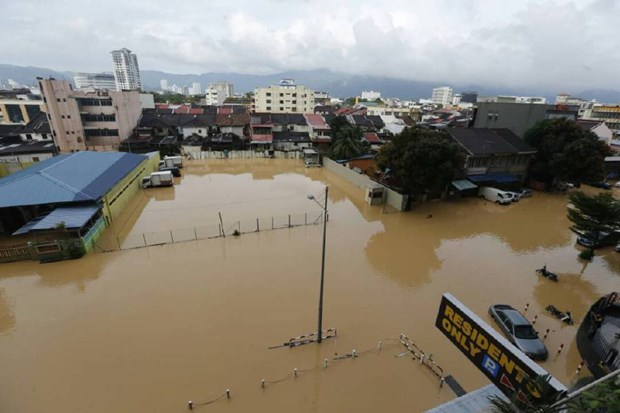 Malaysia mobilises military forces to help flood-hit people hinh anh 1