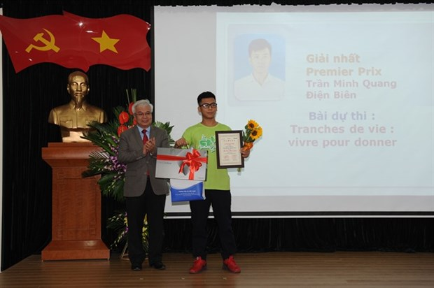 Vietnamese writers take part in French contest hinh anh 1