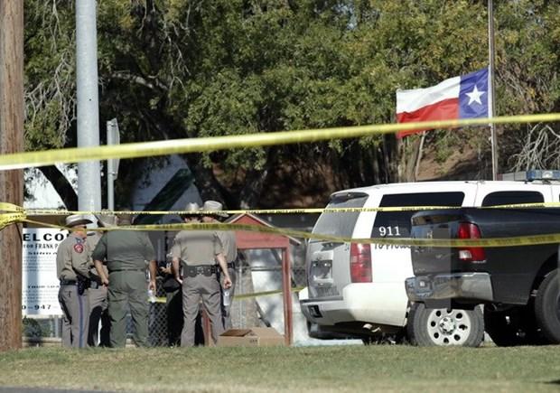 Condolences to President Trump over Texas shooting hinh anh 1