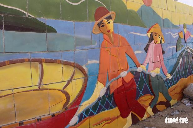 Da Nang: Ceramic mosaics to liven up APEC 2017 leaders' week hinh anh 1