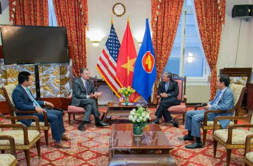 New US Ambassador pledges to promote ties with Vietnam hinh anh 1