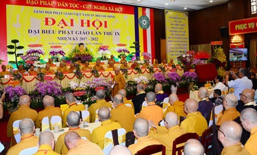 HCM City Buddhist Sangha holds ninth congress hinh anh 1