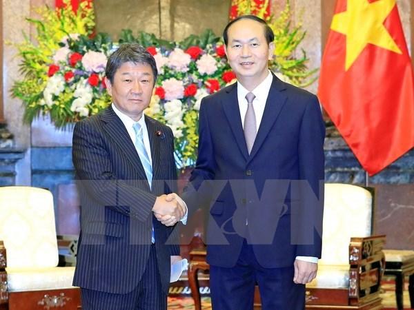 Japan a long-term partner of Vietnam: President hinh anh 1