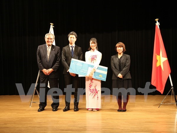 Japan hosts contest of eloquence in Vietnamese hinh anh 1