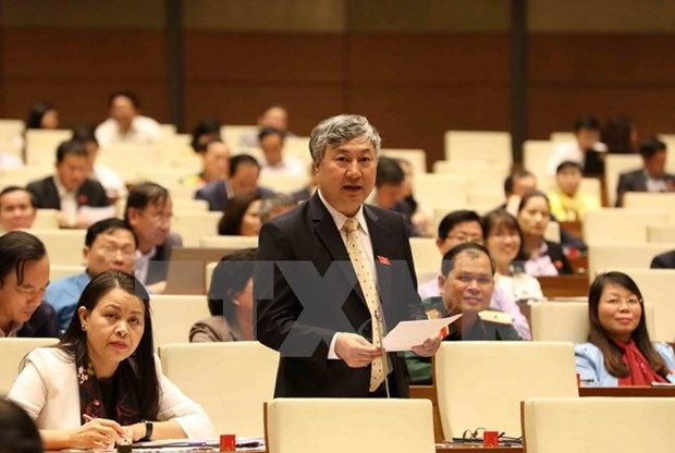 14th NA deputies hear reports on revised Law on Complaints hinh anh 1