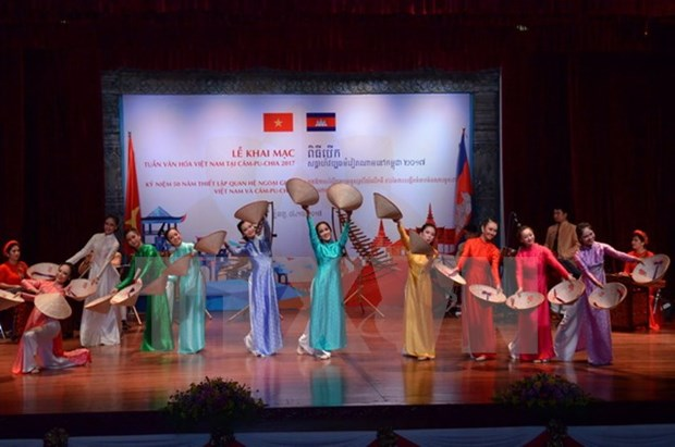Exhibition featuring Cambodian culture opens in Hanoi hinh anh 1
