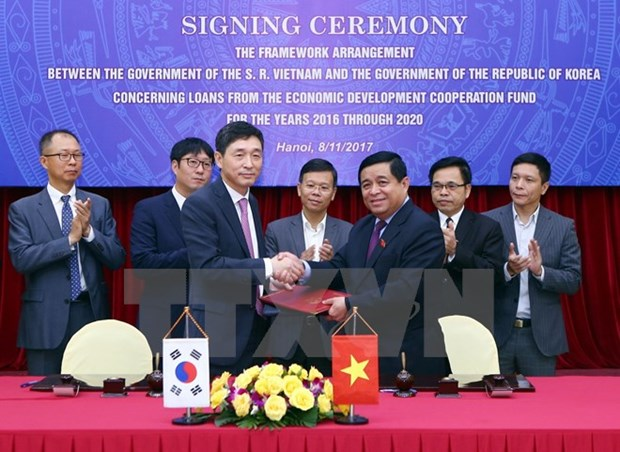 RoK to provide 1.5 bln USD in ODA for Vietnam hinh anh 1