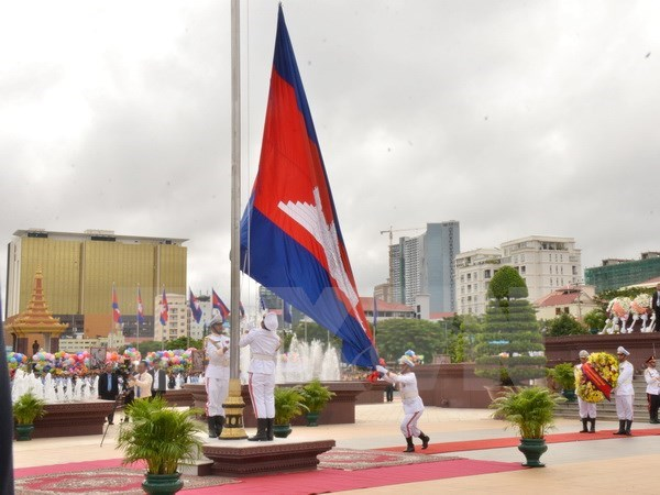 Cambodia celebrate 64th Independence Day hinh anh 1