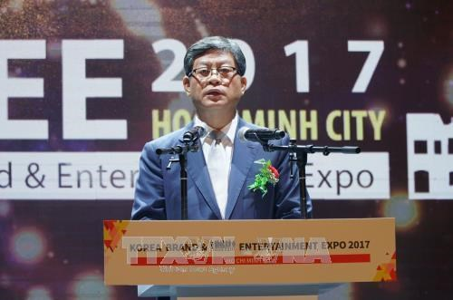 Expo showcases Korean cultural products in HCM City hinh anh 1