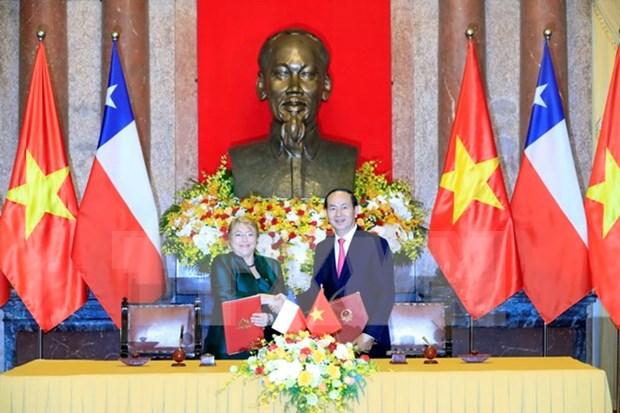 Vietnam, Chile seek stronger comprehensive partnership hinh anh 1