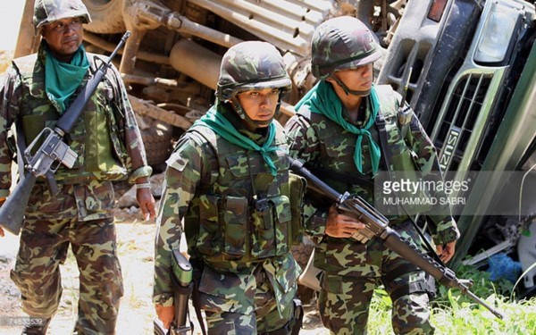 Thailand, UK hold first joint military exercise hinh anh 1