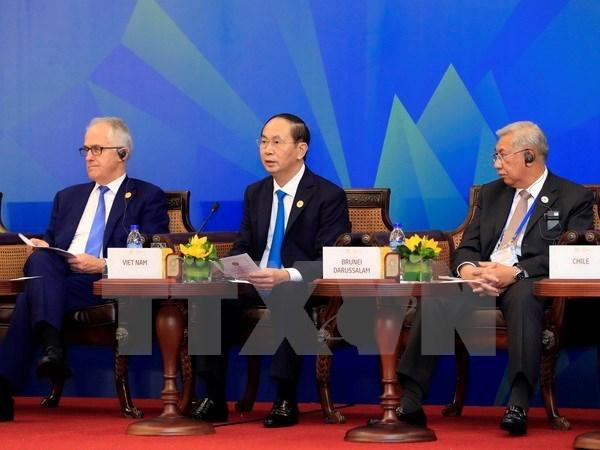 APEC 2017: Vietnamese President's speech at APEC-ABAC dialogue hinh anh 1
